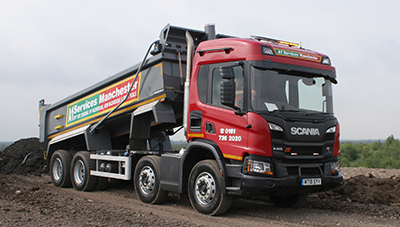 Tipper Hire Truck