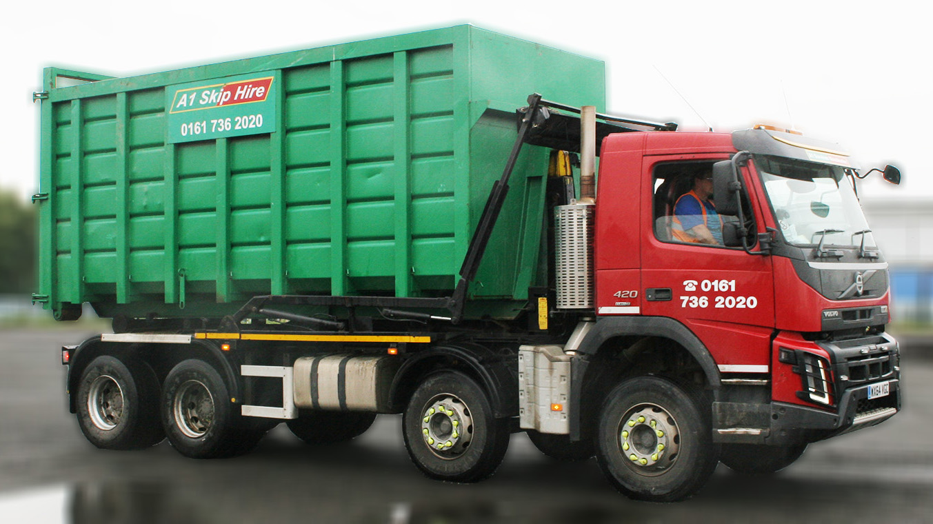 Roll On/Off Large Capicity Skip/Container Hire